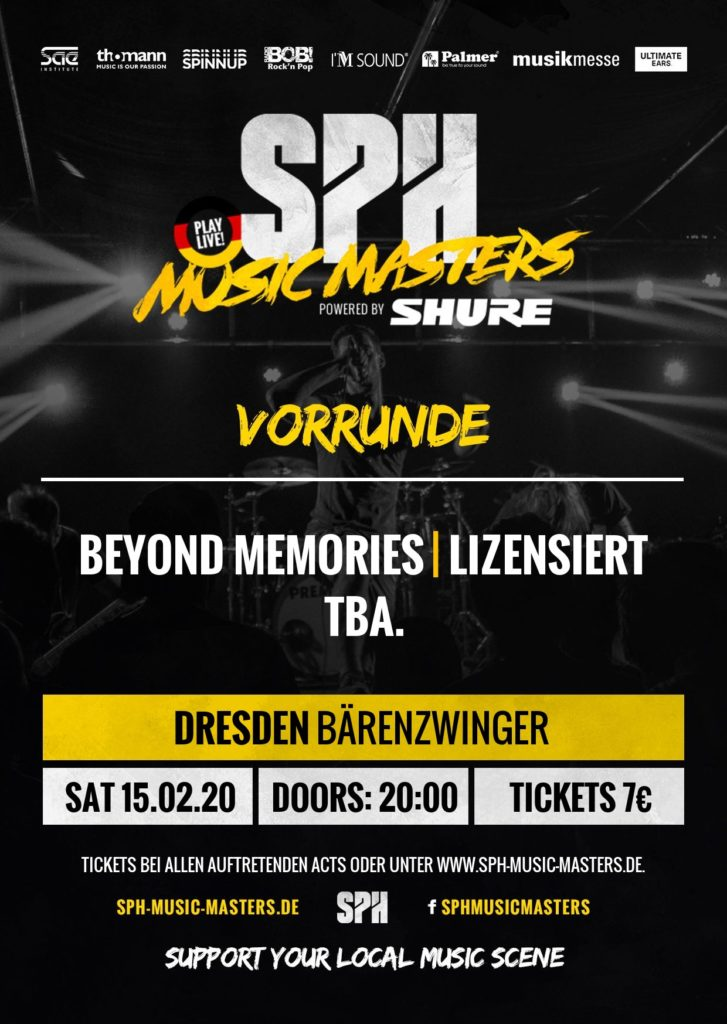liZENSIERT - die Band beim SPH Music Masters Bandcontest