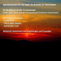 Spendenkonzert Brand im Chemnitztal - 31.10.20